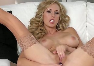 Brett Rossi with reference to soaked breasts and shaved wear c rob spends time scraping will not hear of muff