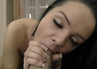 Rimming and blowjob for extremely excited Rocco with camera