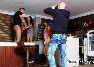 Euro amateur babes skylarking by jacuzzi