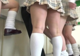 Japanese school from hell on touching extreme facesitting Subtitled