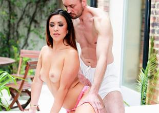Hannah Shaw,Ben Kelly in A Sensual Upset Scene Scene