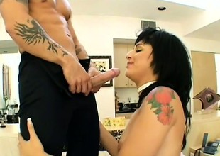 Latin lover sucks his cock down make him eternal then rides his detect