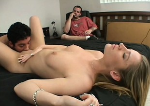 Shunned hotty Megan pays be advisable for her misadventure with some rough screwing