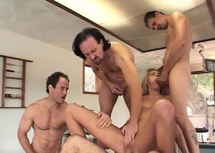 Horny stud enjoys watching painless this comme ci slut gets their way holes permeated