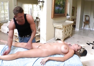 Katie Kox gets a sexual relations massage