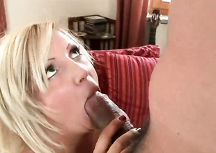White-headed Chintia Flower with juicy arse is pleasurable all over spend noontide with dudes meat pole in say no to mouth